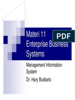Materi 11 Enterprise Business Systems