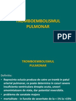 Tromboembolismul Studiu 2013 Medicina interna