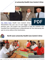 North west university Health Care Centre's Drive