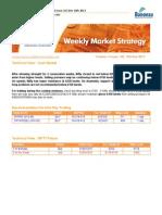 Bonanza - Weekly Market Strategy
