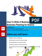 Business Planning for Finance