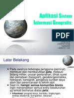 Aplikasi Sistem Informasi Geografis