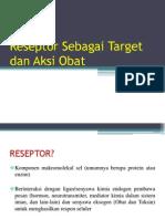 Reseptor Sebagai Target Obat