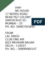 Mumbai Add.