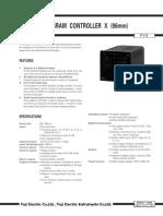 PVX Program Controller Technical Datasheet