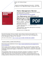 Special Issue (Wright, Chew & Hines] - Marketing for Non Profit Services [May2012]