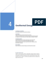 Chapter 4 Geothermal Energy