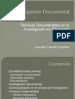 Técnicas Documentales en la Investigación_educació