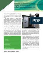 Pilot Fragility Assessment of an Informal Urban Settlement in Fiji