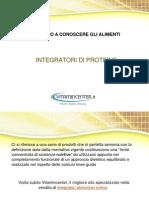 Integratori Proteine