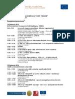 Training sulla Tutela dei Diritti Umani presso le Corti Europee - Programma