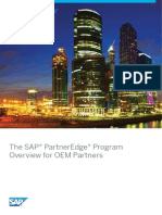 The SAP PartnerEdge Program Overview for OEM Partners[1]