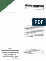 Buletinul constructiilor 11
