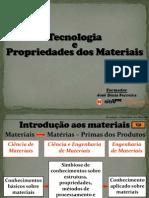 Tecnologia e Propriedades Dos Materiais - Ufcd 6588 (Cor)
