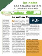 Le rail en Europe