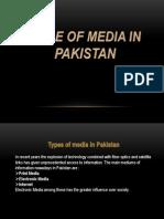 Role of Media in Pakistan