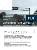 Mat. 7, 13-29 – preek- VB – 15-12-2013