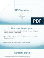 ITC Cigarettes Case Analysis