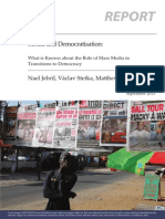Media and Democratisation