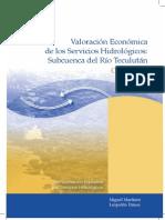Valoracion Economica Rio Teculutan
