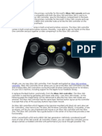The Xbox 360 Controller and All It Can Do