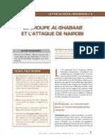 Le Gouriellec, Sonia - Le groupe Al-Shabaab et l'attaque de Nairobi – Lettre du Retex -Recherche n°4, 2013.11.12