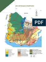 Mapa Geológico del Uruguay_Simplificado