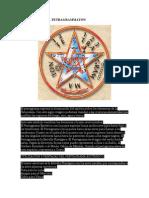 El Pentagramaton y Su Significado en Magia