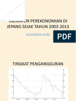 (.)Indikator Perekonomian Di Jepang Sejak Tahun 2003-2013 Baru1
