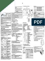 FX3U ENET InstallationManual JY997D15901 B