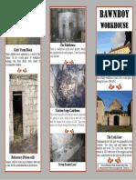 Bawnboy Workhouse Info Leaflet