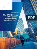 KPMG Corporate Responsibility Reporting Survey 2013