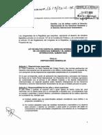 DIH- Proyecto de Ley 1615_2012 Implementacion Crimenes internacionales- Perú