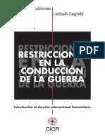 DIH- Restricciones en la Conducción de la Guerra- Frits Kalshoven