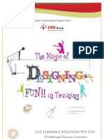 The Magic of Designing FUN!! in Training- Brochure