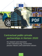 Brochure Research PPPs H2020
