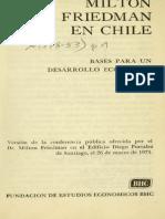 Friedman en Chile