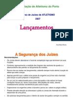 Lancamentos2007imagens e Regulamentos