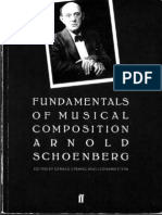 Arnold Schoenberg Fundamentals of Musical Composition