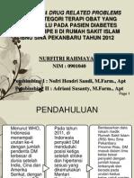 Identifikasi Drug Related Problems (Drps) Kategori