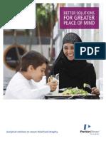 Halal Food Testing Capabilities