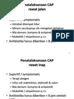 Penatalaksanaan CAP