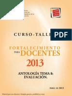 Tema 8 Antologia 2013
