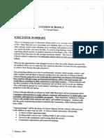 Citizen Schools Concept Paper