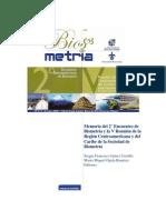 Libro Encuentro Iberoamericano de Biometria