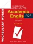 Check Your Vocabulary for Academic English- All You Need to Pass Your Exams (Check Your Vocabulary)