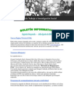 Boletín ETIS - Agosto 2006 - Número 03