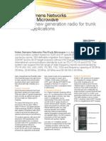 FlexiTrunk Microwave Datasheet