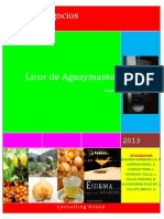 Licor de Aguaymanto COMPLETO