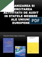 Organizarea Si Exrcitatarea Activitatii de Audit in Statele